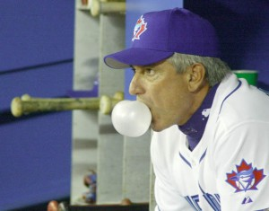 Buck Martinez as manager of the Toronto Blue Jays