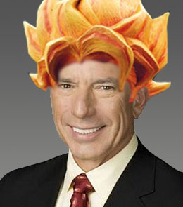 Buck Martinez with Dragon Ball Z hairstyle