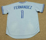 The Famous #1 was worn thrice by Tony Fernandez